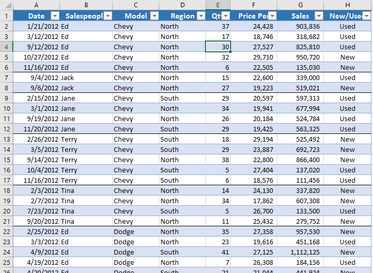 Use conditional formatting to insert a line at each column for Table th not bold