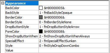 Some Interesting Active X Combo Box Properties In Excel