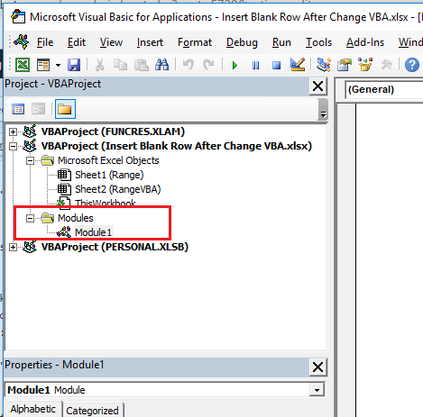 Inserting A Blank Row At A Column Change UPDATE In Excel